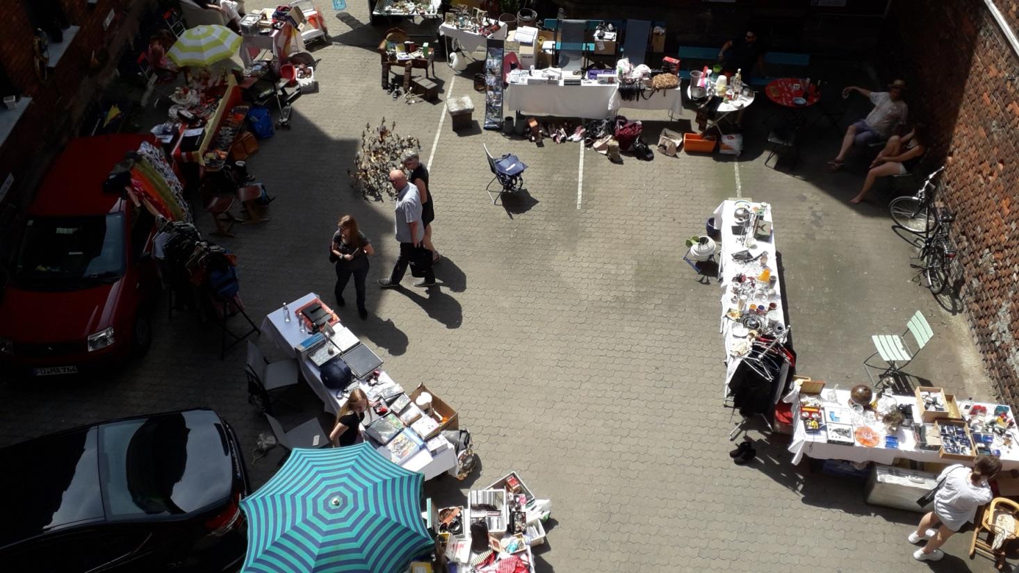 Hofflohmarkt In Der Maxstr In Furth Vsj