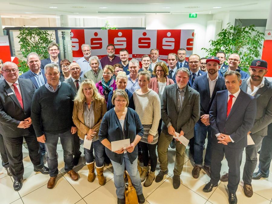 vsj e.V. Spendenübergabe Sparkasse Erlangen 2018