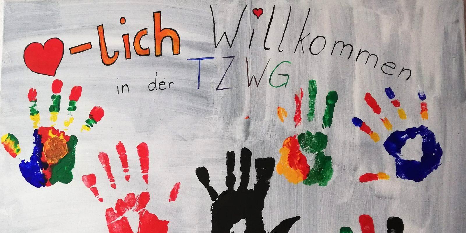 TZWG Teilzeitbetreute Wohngruppe für unbelgeitete minderjährige Flüchtlinge Verein für Sozialpädagogische Jugendbetreuung vsj e.V.