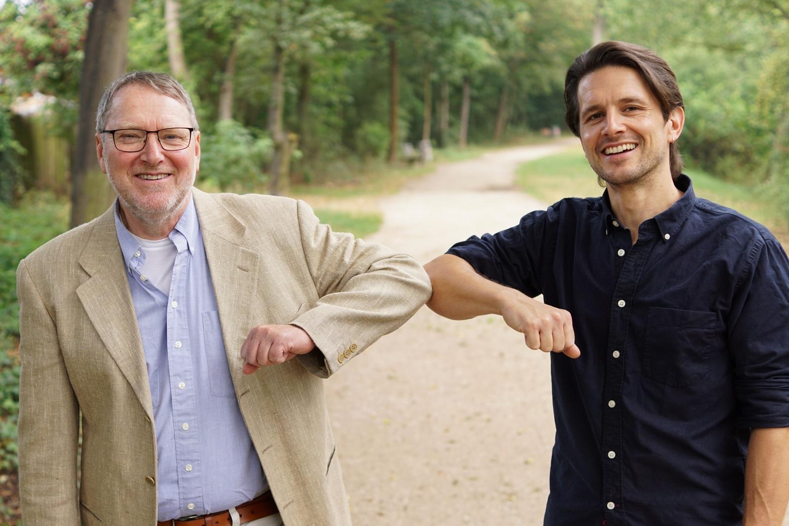 neue Geschäftsführung Christian Kuhn Andre Engelbrecht vsj e.V. Jugendhilfe