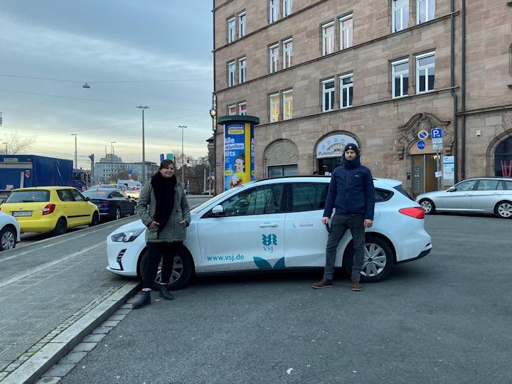 move on Dienstfahrzeug vsj e.V. intensivpädagogik Jugendhilfe Nürnberg Fürth Erlangen