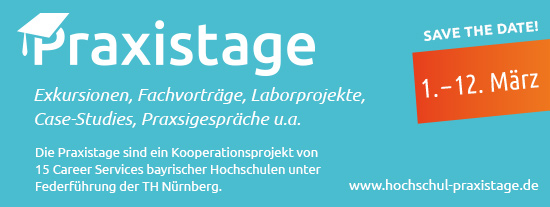 Der vsj beim Praxistag der TH Nürnberg am 03.03.2021